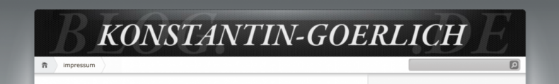 Ich habe mein Blog aufpoliert